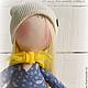 Коллекционные куклы ручной работы. Заказать я Кукла-малыш -,,платье в огурцах,,. **АSSORTIES** от Людмилы Сухановой. Ярмарка Мастеров. Куклы и игрушки