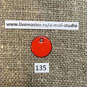 Материалы для творчества handmade. Livemaster - original item Enamel Red Flame No.135 Dulevo. Handmade.