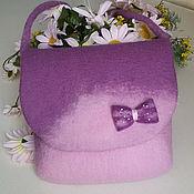 Сумки и аксессуары handmade. Livemaster - original item Felted bag for girl Katya. Handmade.