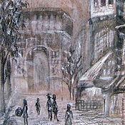"Картины и панно handmade. Livemaster - original item Картина "" Париж графика -2 "". Handmade."
