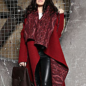Одежда ручной работы. Ярмарка Мастеров - ручная работа Пальто  двухстороннее СOZY PERU. Handmade.
