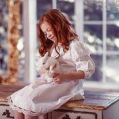 Работы для детей, ручной работы. Ярмарка Мастеров - ручная работа Крестильное платье Маленькая королева. Handmade.