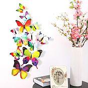 Для дома и интерьера ручной работы. Ярмарка Мастеров - ручная работа Бабочки на магнитах в ассортименте. Handmade.