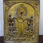 Винтаж handmade. Livemaster - original item Vintage icon joy of All who sorrow Holy mother of God. Handmade.