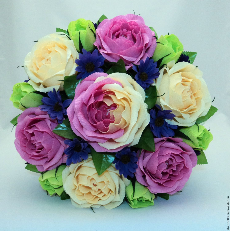 Букеты из конфет из роз