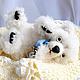 Мишки Тедди ручной работы. Ярмарка Мастеров - ручная работа. Купить белый медвежонок Хэмиш. Handmade. Белый, малыш, мишка