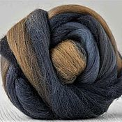 Материалы для творчества handmade. Livemaster - original item Merino wool 18 microns, Autumn rhythm, Italy, Extra fine, 50 g.. Handmade.