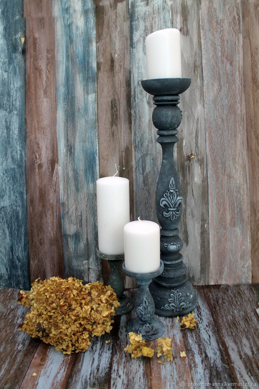 Candle holder large vintage style, Candlesticks, Saratov,  Фото №1