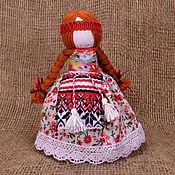Народная кукла ручной работы. Ярмарка Мастеров - ручная работа Кукла на удачное замужество с косами. Народная кукла. Подарок девушке. Handmade.
