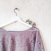 Одежда handmade. Livemaster - original item Felted sweatshirt. Handmade.