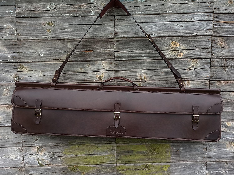 Double-sided gun bag for 3 units, Buttero Alkantara, Classic Bag, Sevsk,  Фото №1