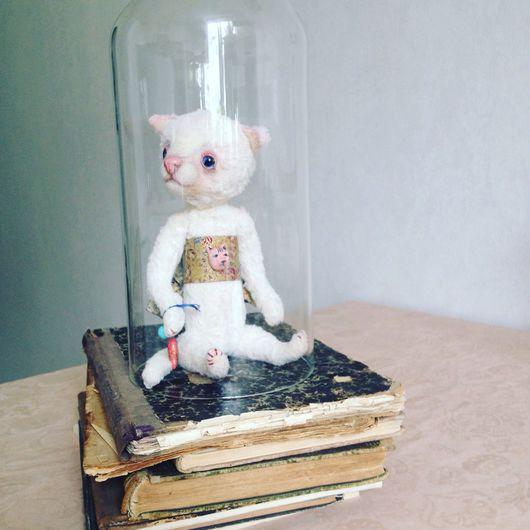 Мишки Тедди ручной работы. Ярмарка Мастеров - ручная работа. Купить Котик приносящий удачу - Манеки неко. Handmade. Тедди