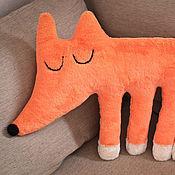 Элементы интерьера ручной работы. Ярмарка Мастеров - ручная работа Интерьерная игрушка Спящая лисичка. Handmade.