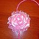 Колье, бусы ручной работы. Заказать Бусы с цветком. Hand made flowers (JulyaChirkova). Ярмарка Мастеров. Бусы с цветком