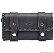Сумки и аксессуары handmade. Livemaster - original item Leather clutch