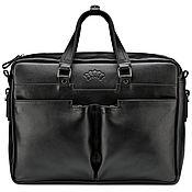 Сумки и аксессуары handmade. Livemaster - original item Leather business bag