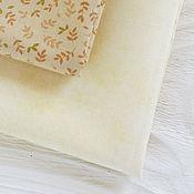 Материалы для творчества ручной работы. Ярмарка Мастеров - ручная работа ткань хлопок США (Maywood) желтый 50x55 см (1/4 метра). Handmade.