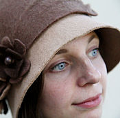 "Аксессуары ручной работы. Ярмарка Мастеров - ручная работа Валяная шляпка ""Charming Lady"". Handmade."