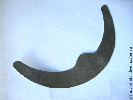 металлическая основа для колье-полумесяц.диаметр 160мм