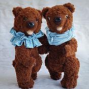 Куклы и игрушки ручной работы. Ярмарка Мастеров - ручная работа Медведь игрушка Пара мишек. Handmade.