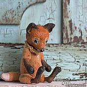 Куклы и игрушки ручной работы. Ярмарка Мастеров - ручная работа Лис. Handmade.