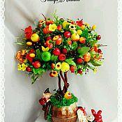 топиарий фото из фруктов