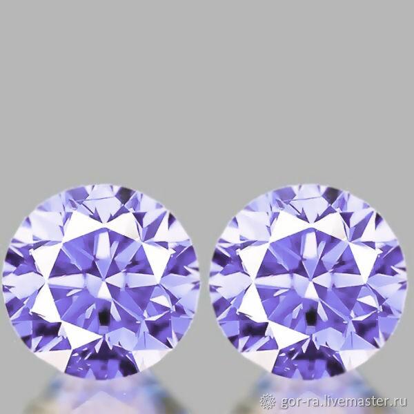 Sapphire 3,5 mm., VVS1, natural, Minerals, Yoshkar-Ola,  Фото №1