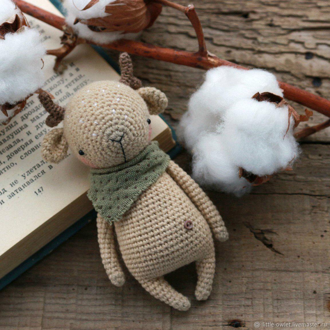 Олененок. Описание вязания, Схемы для вязания, Новосибирск, Фото №1