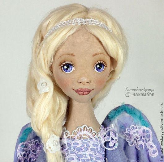 кукла ангел, красивое личико