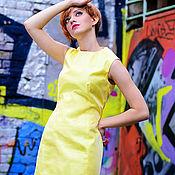 Одежда ручной работы. Ярмарка Мастеров - ручная работа Летнее платье  из шелка. Handmade.