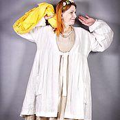 Одежда ручной работы. Ярмарка Мастеров - ручная работа Пыльник Белая Вишня Бохо. Handmade.