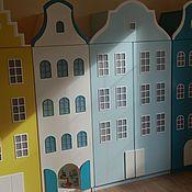 Для дома и интерьера ручной работы. Ярмарка Мастеров - ручная работа Двустворчатый шкаф-домик. Handmade.