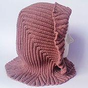 Аксессуары ручной работы. Ярмарка Мастеров - ручная работа Капюшон розовый. Handmade.