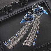 Earrings handmade. Livemaster - original item Earrings with birds