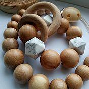 Комплекты аксессуаров ручной работы. Ярмарка Мастеров - ручная работа Грызунок-прорезыватель деревянный. Handmade.
