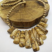 Украшения handmade. Livemaster - original item Necklace made of jasper The Sands of Time. Handmade.
