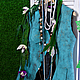 """Жилеты ручной работы. Ярмарка Мастеров - ручная работа. Купить Жилет валяный """"Бирюзовый"""". Handmade. Тёмно-бирюзовый, мода весна"""