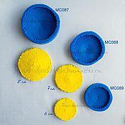 Материалы для творчества ручной работы. Ярмарка Мастеров - ручная работа Молды (вайнеры) силиконовые для серединок подсолнуха 3 размера. Handmade.