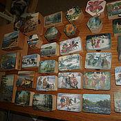 Для дома и интерьера ручной работы. Ярмарка Мастеров - ручная работа шкатулки деревянные  под декупаж  и  точечная роспись. Handmade.