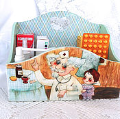 Для дома и интерьера handmade. Livemaster - original item Box kit Home doctor. Handmade.