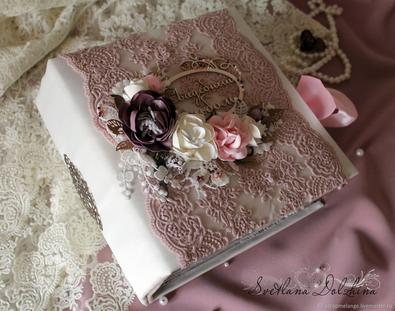 Wedding album' Melody of love' for photo pink white, Photo albums, Tyumen,  Фото №1