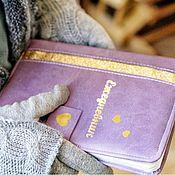 Блокноты ручной работы. Ярмарка Мастеров - ручная работа Ежедневник формат А5. Handmade.