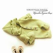 Работы для детей, ручной работы. Ярмарка Мастеров - ручная работа Комбинезон и шапочка для новорожденного. Handmade.