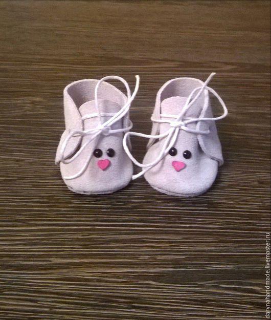 Одежда для кукол ручной работы. Ярмарка Мастеров - ручная работа. Купить Обувь для кукол/обувь для игрушек/обувь для мишек/ботночки для игрушек. Handmade.