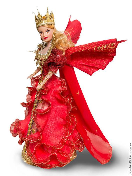 Коллекционные куклы ручной работы. Ярмарка Мастеров - ручная работа. Купить Кукла-фея. Handmade. Разноцветный, фея