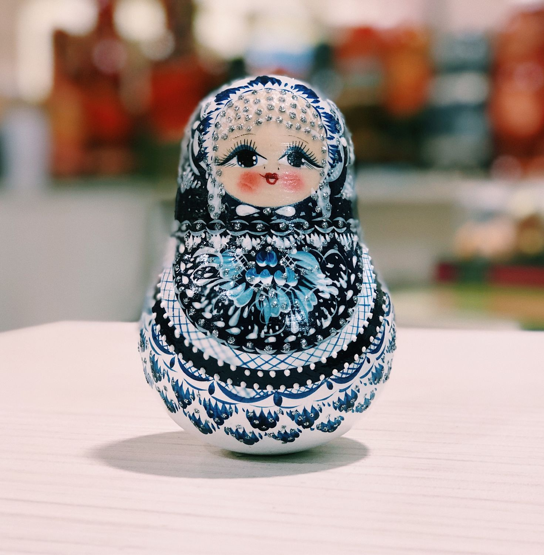 TUMBLER 'GZHEL', 12 cm, Dolls1, Moscow,  Фото №1