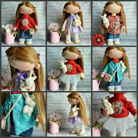 Куклы тыквоголовки ручной работы. Ярмарка Мастеров - ручная работа. Купить Текстильная игровая кукла. Handmade. Текстильная кукла, подарок