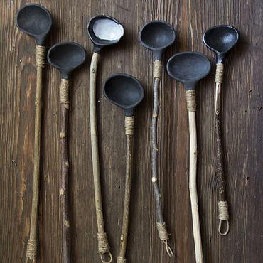 """Посуда ручной работы. Ярмарка Мастеров - ручная работа Ложки """"Этника"""". Handmade."""