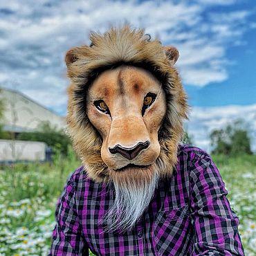 Для дома и интерьера ручной работы. Ярмарка Мастеров - ручная работа Маски: Маска льва. Маска короля льва. Карнавальная маска льва. Handmade.