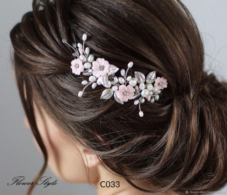 Свадебное украшение для волос С033, Свадебные аксессуары, Москва,  Фото №1